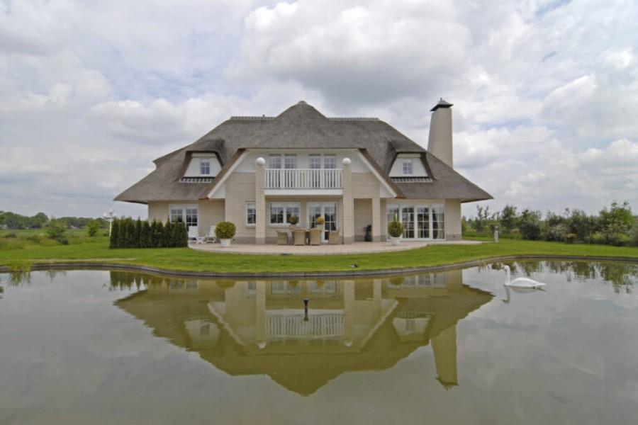 Voorbeeld landelijke woning