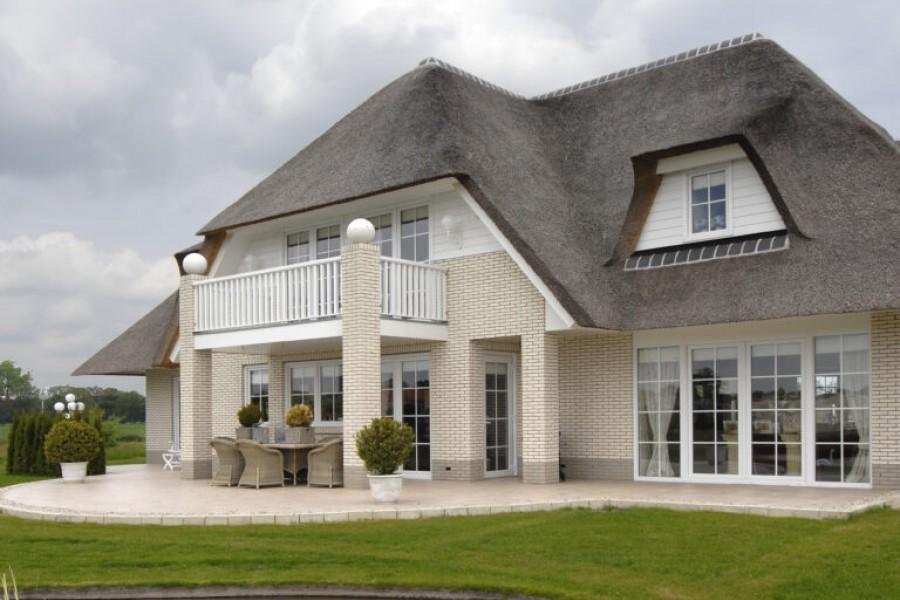 voorbeeld landelijke woning laten bouwen